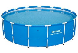Bestway Steel Pro 15 feet x 48 inches Frame Pool Set