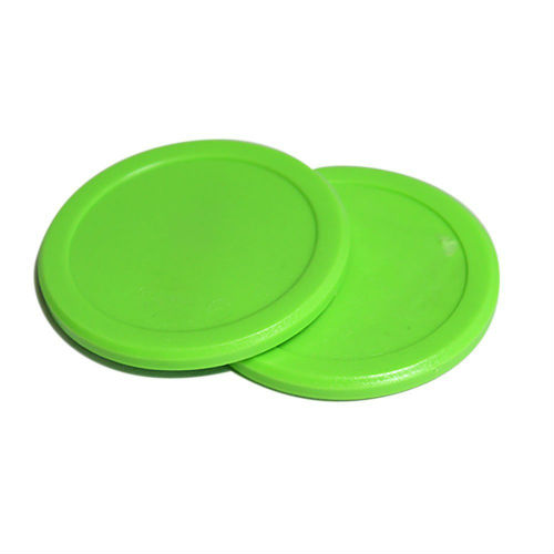 Dynamo Green Air Hockey Puck Set of 2