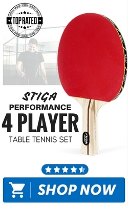 STIGA Performance 4 Player Table Tennis Set