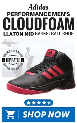 Adidas Performance Men's Cloudfoam llaton Mid Basketball Shoe