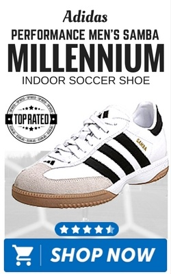 e4afbc13999 Adidas Performance Men s Samba Millennium Indoor Soccer Shoe