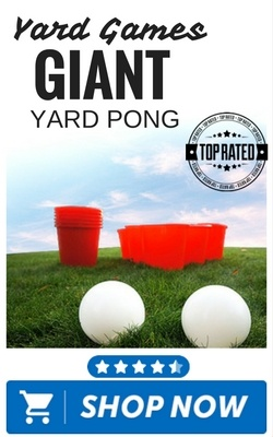 Giant Yard Pong by Yard Games