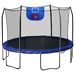 Skywalker Trampolines 12 Feet Jump N' Dunk Trampoline with Safety Enclosure and Basketball Hoop