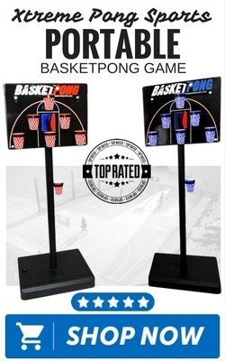 Xtreme Pong Sports Portable BasketPong Game