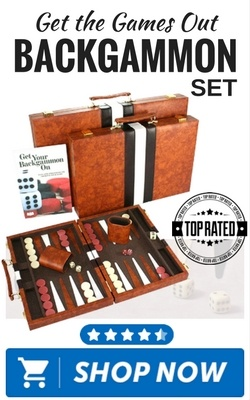 Get the Games Out Backgammon Set