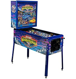 PBR (Pabst Blue Ribbon) Can Crusher Pinball Machine