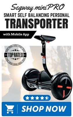 Segway miniPRO Smart Self Balancing Personal Transporter with Mobile App