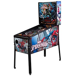 Stern Marvel Spiderman Pinball Machine