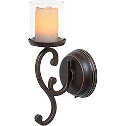 Candle Impressions Wall Sconce