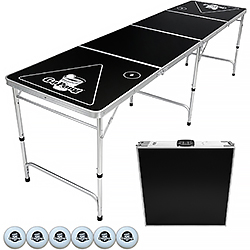 GoPong 8 Foot Portable Folding Table